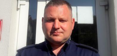 Policjant z Solca  skoczył do wody i uratował topiącego się wędkarza-23651