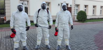 Terytorialsi zdekontaminowali DPS w Wilkowiczkach i sanatorium w Ciechocinku-23858