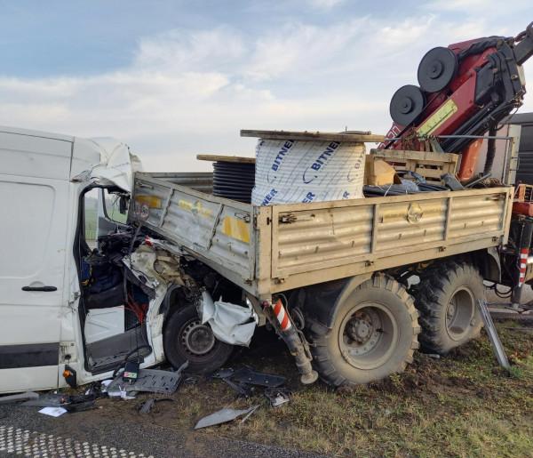 Groźny wypadek na A1. Autostrada była zablokowana przez kilka godzin-24060