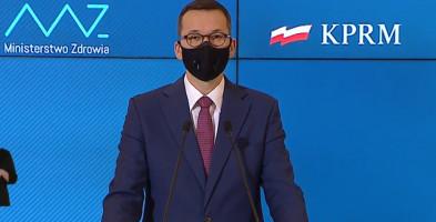 Premier Morawiecki przedstawia plan walki z koronawirusem na najbliższe 100 dni-24088