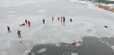 Terytorialsi na szkoleniu u WOPR-owców na jeziorze Gopło-24789