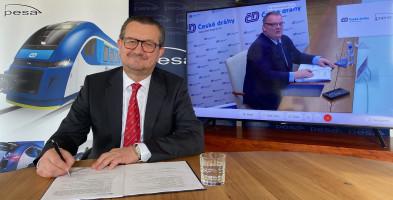 Pesa dostarczy pociągi do Czech za nawet 2,5 mld zł-24970