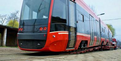 Tramwaje PESY dostarczone na Śląsk-25458