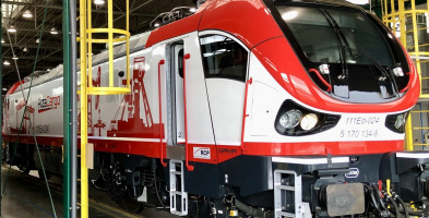 PESA zbudowała pierwszą lokomotywę Gama Marathon dla AlzaCargo-25724