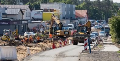 """Mieszkańcy mają dość budowy buspasa na ul. Kolbego. """"Jeden wielki chaos""""-25843"""