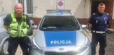 Ratunkowa interwencja policjantów!-25862