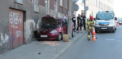 Wypadek na przejściu dla pieszych w Grudziądzu. Dwie osoby w  szpitalu-25909