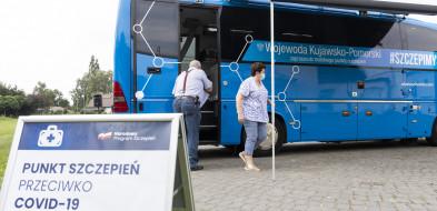 Szczepionkobus ruszył w trasę w Kujawsko-Pomorskiem-26326