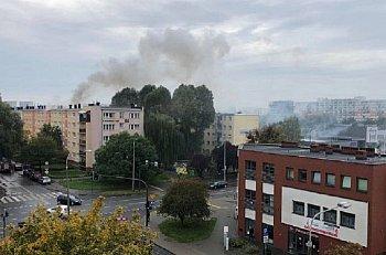 Pożar na Bartodziejach. Płonęło mieszkanie-8717