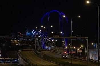 Most Uniwersytecki na plus w błękicie...-8753