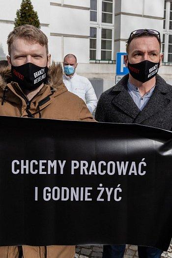 Protest branży weselnej w Bydgoszczy-8828