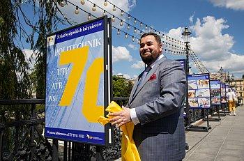 70 lat historii UTP na moście Staromiejskim-8923