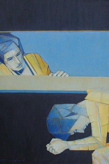 Życie w ukryciu. Obrazy Kazimierza Drejasa-9077