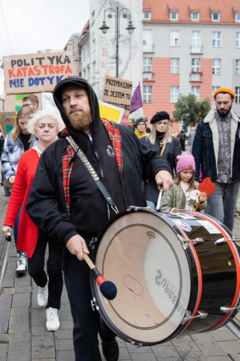 Extinction Rebellion na ulicach Bydgoszczy-9089