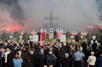 Pogrzeb Żołnierzy Wyklętych. Cześć i chwała-9092